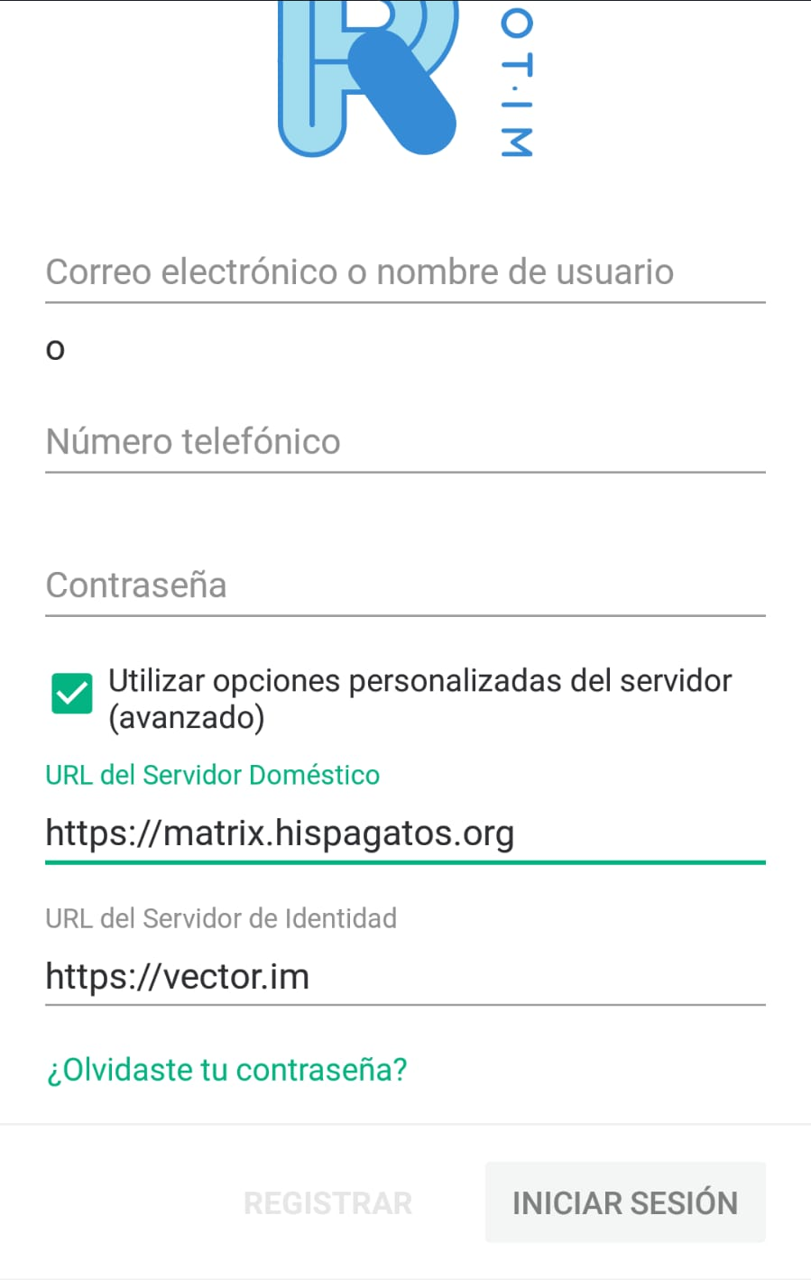 AndroidServidor1